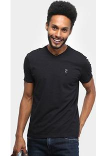 Camiseta Ellus Flame Fine Ellus Industry Co Masculina - Masculino-Preto