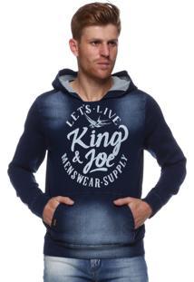 Blusa King&Joe Azul