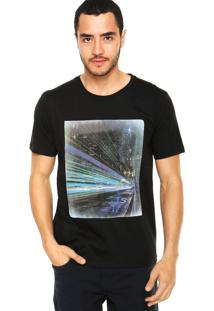 Camiseta M. Officer City Preta