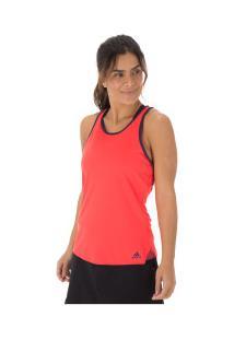 Camiseta Regata Adidas Club Tank - Feminina - Rosa Escuro