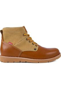 Bota Work Boots Jax Levis - Masculino-Caramelo