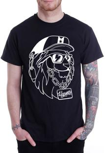 Camiseta Hypnotic The Lion King Preta