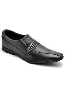 Sapato Social Top Franca Shoes Masculino - Masculino-Preto