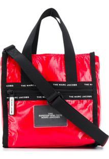 Marc Jacobs Bolsa Tote New York Pequena - Vermelho
