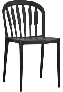 Cadeira Maya Preta Rivatti