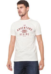 Camiseta Yachtsman Manga Curta Estampada Off-White
