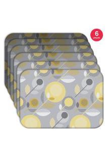 Jogo Americano - Love Decor Basic Element Kit Com 6 Peças