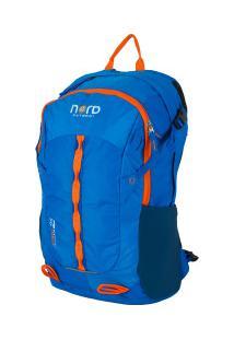 Mochila Cargueira Nord Outdoor Hiking Crazy - 25 Litros - Azul/Laranja