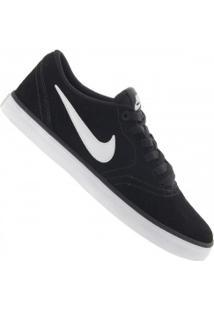 Tênis Nike Sb Check Solar - Masculino - Preto/Branco