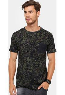 Camiseta Foxton Full Print Ilha Grande Masculina - Masculino