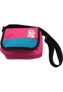 Bolsa Shoulder Bag Progress- Pgs Rosa E Azul