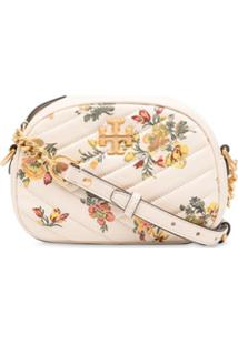 Tory Burch Kira Quilted-Effect Crossbody Bag - Neutro