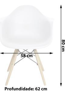 Cadeira Charles Eames Eiffel Mor Com Braços
