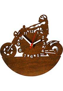 31187a30502 Amazon. Relógio De Parede Tabaco Mdf Toque Decorativo De Parede Moderno Me  Criative ...