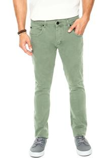 Calça Sarja Rusty Cos Illusion Verde