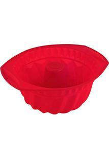 Forma Com Furo Kenya- Vermelha- 11X28X24Cm- Spicm.Cassab