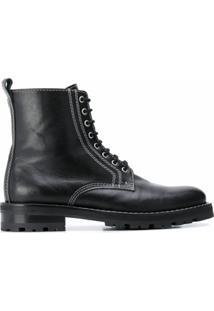 Ami Paris Ankle Boot Worker - Preto