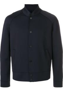 Harris Wharf London Jaqueta Bomber - Azul
