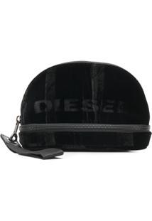Diesel Nécessaire Com Logo - Preto