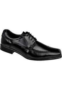 Sapato Social Constantino Cadarço Masculino - Masculino-Preto