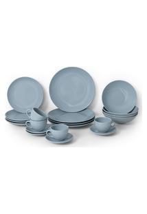 Aparelho De Jantar 20 Peças Soho Haus Concept Azul