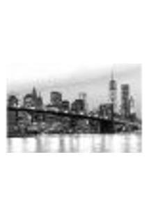 Painel Adesivo De Parede - Nova Iorque - Cidade - 1092Pnm