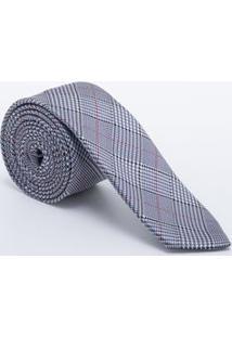 Gravata Slim Estampada