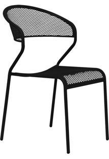 Cadeira De Jardim Lenna Preta