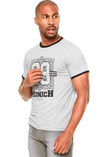 Camiseta Fiveblu Munich Cinza