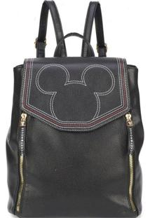 Bolsa Mochila Luxcel Mickey Bmk78457