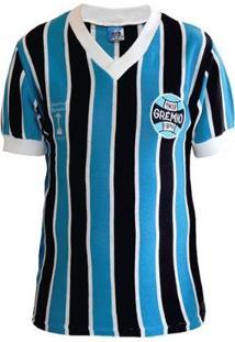 Camisa Retrô Grêmio Libertadores 1983 Masculina - Masculino