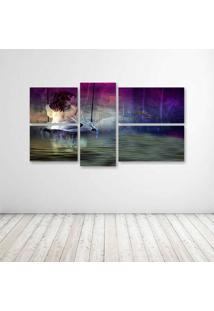 Quadro Decorativo - Digital Creation - Composto De 5 Quadros