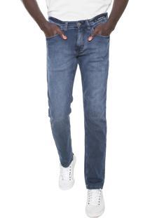 Calça Jeans Aramis Slim Londres Azul