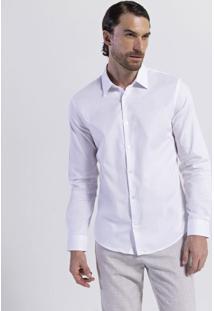 Camisa Manga Longa Tradicional Slim Fit