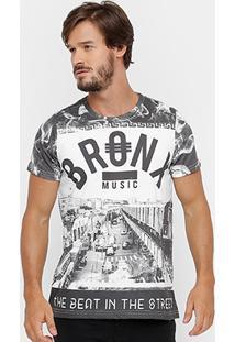 Camiseta Yellowl Bronx Masculina - Masculino