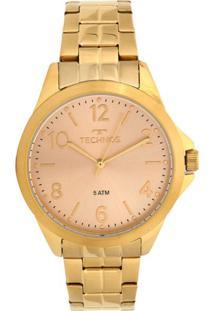 Relógio Technos Elegance Dress Dourado 2035Mek4X - Kanui