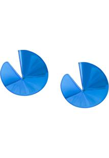 Gaviria Par De Brincos Fortune Cookie - Azul