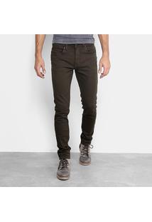 Calça Skinny Calvin Klein Color Puídos Masculina - Masculino