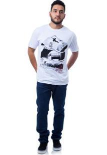 Camiseta Zero Rail Masculina - Masculino-Branco