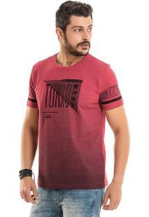 Camiseta Tokyo Com Foil Vermelho Bgo