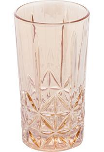 Conjunto 6 Copos Altos Vidro Para Drink Stella Âmbar 270Ml