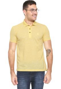 Camisa Polo Sergio K Reta Amarela