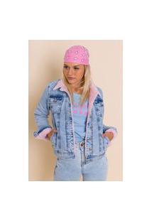 Jaqueta Jeans Forrada Briana