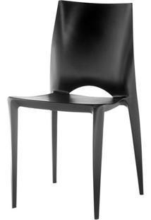 Cadeira Daiane Produzida Em Polipropileno Preto - 8176 - Sun House