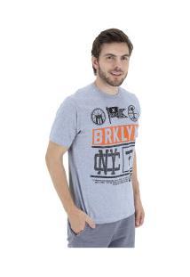 Camiseta Fatal Estampada 20268 - Masculina - Cinza
