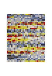Tapete Para Sala Pixel N Colorido 1,50X2,00 Sáo Carlos