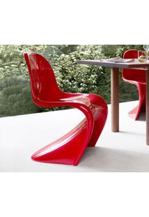 Cadeira Panton (Fibra De Vidro) Vermelho