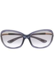 Tom Ford Eyewear Óculos De Sol Jennifer - Cinza