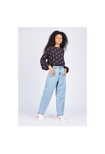 Calça Jeans Slouchy Delavê Gang Feminina