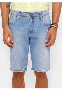 Bermuda Jeans Colcci Davi Stone Masculina - Masculino